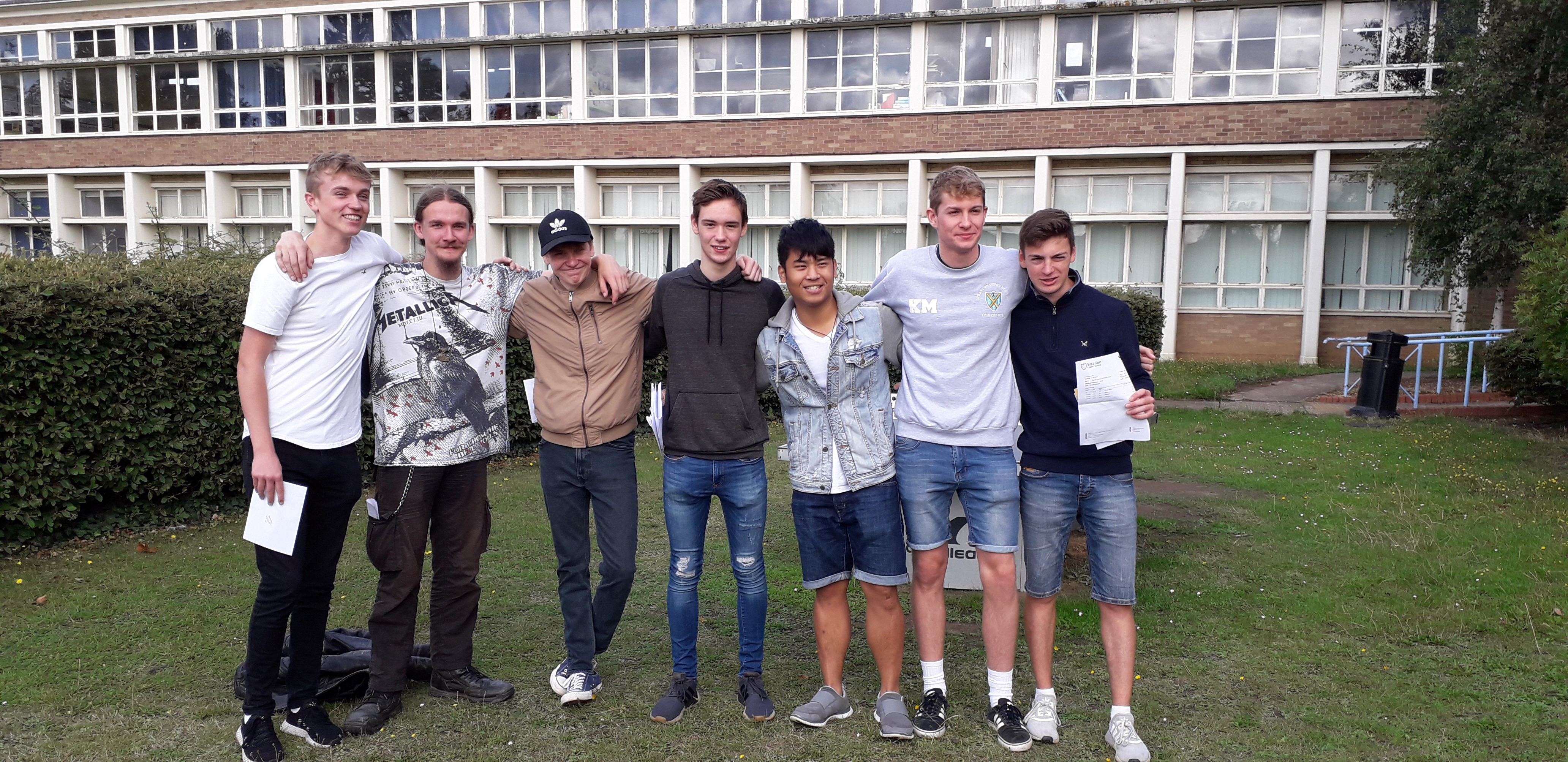 Stratton Upper School celebrates another year of A level success